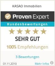 Erfahrungen & Bewertungen zu KASAO Immobilien
