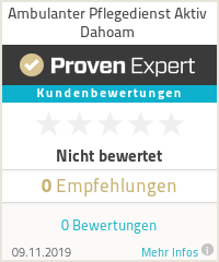 Erfahrungen & Bewertungen zu Ambulanter Pflegedienst Aktiv Dahoam
