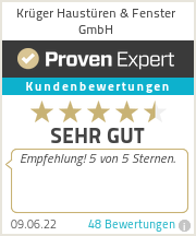 Erfahrungen & Bewertungen zu Krüger Haustüren & Fenster GmbH
