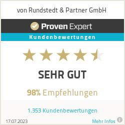 Erfahrungen & Bewertungen zu von Rundstedt & Partner GmbH
