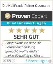 Erfahrungen & Bewertungen zu Die HeilPraxis Reiner Ossmann
