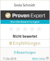 Erfahrungen & Bewertungen zu Grete Schmidt