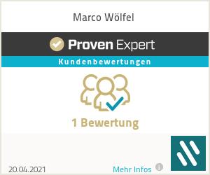 Erfahrungen & Bewertungen zu Marco Wölfel