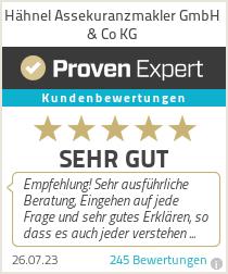 Erfahrungen & Bewertungen zu Hähnel Assekuranzmakler GmbH & Co KG