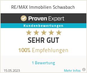 Erfahrungen & Bewertungen zu RE/MAX Schwabach