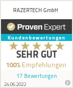 Erfahrungen & Bewertungen zu RAZERTECH GmbH