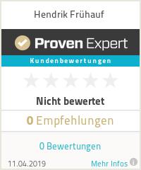 Erfahrungen & Bewertungen zu Hendrik Frühauf