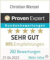 Erfahrungen & Bewertungen zu Christian Wenzel