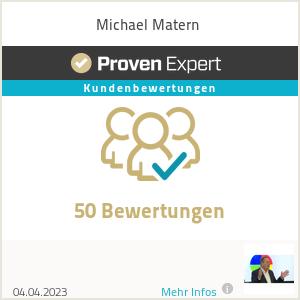 Erfahrungen & Bewertungen zu Michael Matern