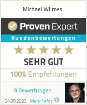 Erfahrungen & Bewertungen zu Michael Wilmes
