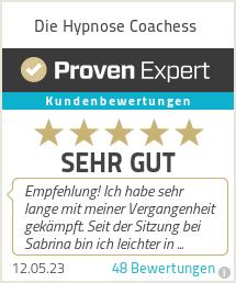 Erfahrungen & Bewertungen zu Die Hypnose Coachess