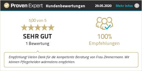 Kundenbewertungen & Erfahrungen zu Pflegehelden® Hohenlohe. Mehr Infos anzeigen.