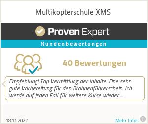 Erfahrungen & Bewertungen zu Multikopterschule XMS
