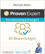 Erfahrungen & Bewertungen zu Michael Mohr