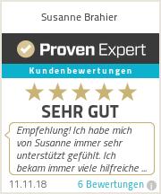 Erfahrungen & Bewertungen zu Susanne Brahier