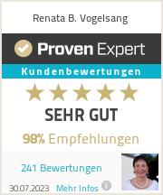 Erfahrungen & Bewertungen zu Renata B. Vogelsang