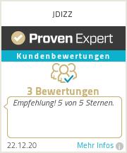 Erfahrungen & Bewertungen zu JDIZZ