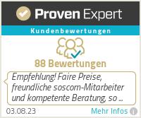 Erfahrungen & Bewertungen zu SOSCOM GmbH