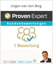 Erfahrungen & Bewertungen zu Jürgen van den Borg