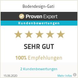 Erfahrungen & Bewertungen zu Bodendesign-Gati