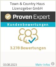 Erfahrungen & Bewertungen zu Town & Country Haus Lizenzgeber GmbH