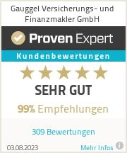 Erfahrungen & Bewertungen zu Gauggel Versicherungs- und Finanzmakler GmbH