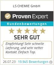 Erfahrungen & Bewertungen zu LS CHEMIE GmbH