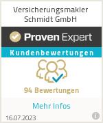 Erfahrungen & Bewertungen zu Versicherungsmakler Schmidt GmbH