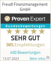 Erfahrungen & Bewertungen zu Freudl Finanzmanagement GmbH