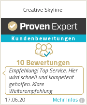 Erfahrungen & Bewertungen zu Creative Skyline