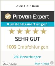 Erfahrungen & Bewertungen zu Salon HairDaun