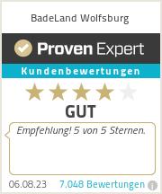 Erfahrungen & Bewertungen zu BadeLand Wolfsburg