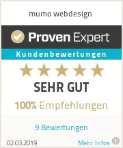Erfahrungen & Bewertungen zu mumo webdesign