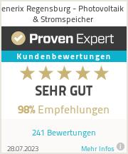 Erfahrungen & Bewertungen zu enerix Regensburg