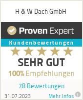 Erfahrungen & Bewertungen zu H & W Dach GmbH