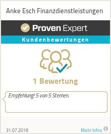 Erfahrungen & Bewertungen zu Anke Esch Finanzdienstleistungen