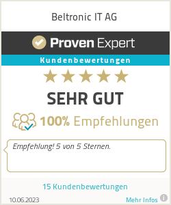 Erfahrungen & Bewertungen zu Beltronic IT AG