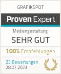 ProvenExpert-Profil von GRAFIKSPOT anzeigen