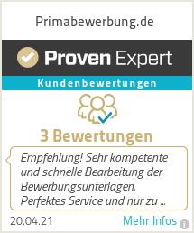 Erfahrungen & Bewertungen zu Primabewerbung.de