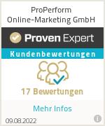 Erfahrungen & Bewertungen zu ProPerform