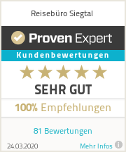 Erfahrungen & Bewertungen zu Reisebüro Siegtal