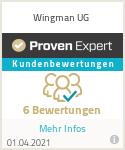 Erfahrungen & Bewertungen zu Wingman UG