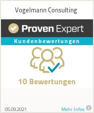Erfahrungen & Bewertungen zu Vogelmann Consulting