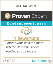 Erfahrungen & Bewertungen zu AIXTRA-WEB