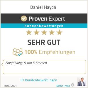Erfahrungen & Bewertungen zu Daniel Haydn