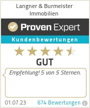 Erfahrungen & Bewertungen zu Langner & Burmeister Immobilien