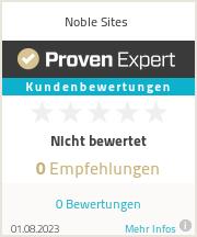 Erfahrungen & Bewertungen zu Noble Sites