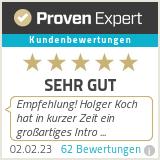 Erfahrungen & Bewertungen zu Profi Sprecher Holger Koch