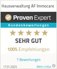 Erfahrungen & Bewertungen zu Hausverwaltung AF Immocare