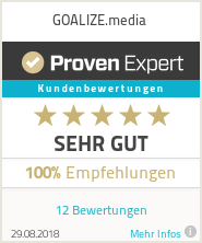 Erfahrungen & Bewertungen zu GOALIZE.media